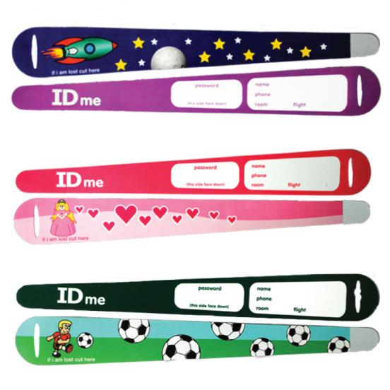Childrens ID Wristbands