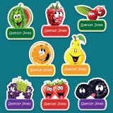 Pack of  24 Cartoon Labels
