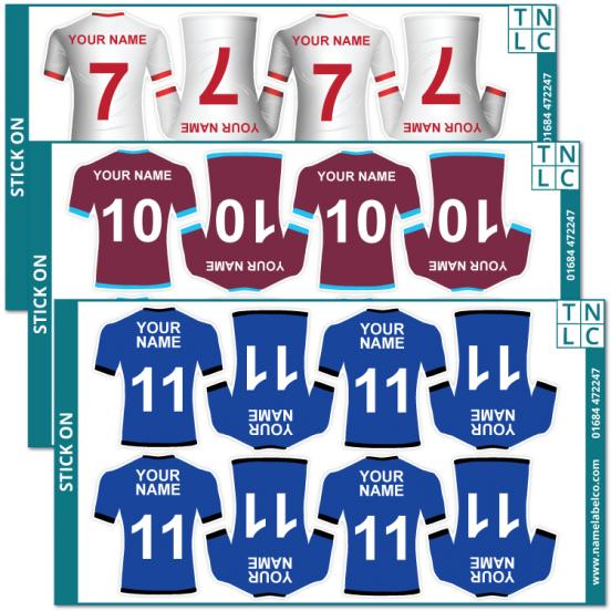 Sports Shirt Stickers