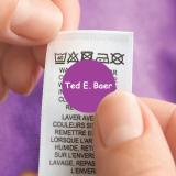 Round Clothing Name Labels LAUNDER®