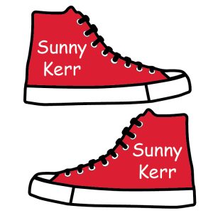 Sneaker Shoe Labels for Kids