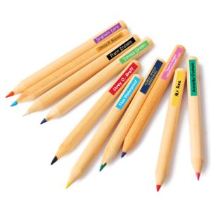 Pencil Thin Waterproof Labels
